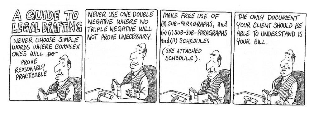 Legal Drafting Cartoon