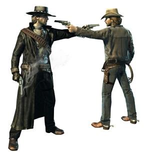 Guns Pointing